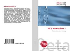Bookcover of NK2 Homeobox 1