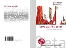 Couverture de NKVD Order No. 00447