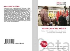 Couverture de NKVD Order No. 00485