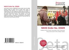 Bookcover of NKVD Order No. 00689