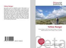 Обложка Yellow Ranger