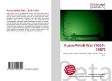 Capa do livro de Russo-Polish War (1654–1667)