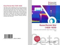 Portada del libro de Russo-Persian War (1826–1828)