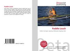 Bookcover of Paddle Leash