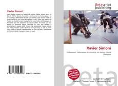 Bookcover of Xavier Simoni