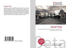 Bookcover of Xavier Trias