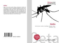 Buchcover von Aedes