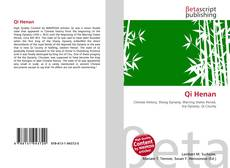 Bookcover of Qi Henan