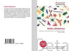 Buchcover von Aedes albopictus