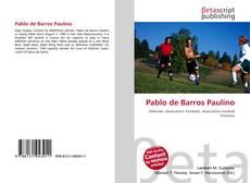 Capa do livro de Pablo de Barros Paulino