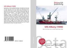 Portada del libro de USS Albany (1846)