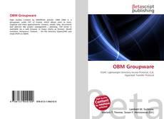 Capa do livro de OBM Groupware