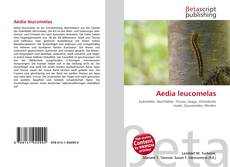 Обложка Aedia leucomelas