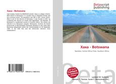 Bookcover of Xaxa - Botswana