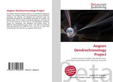 Bookcover of Aegean Dendrochronology Project