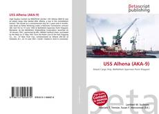 Portada del libro de USS Alhena (AKA-9)