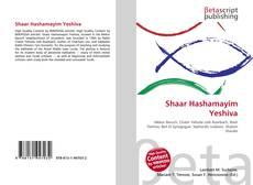Bookcover of Shaar Hashamayim Yeshiva