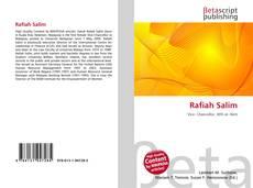 Bookcover of Rafiah Salim