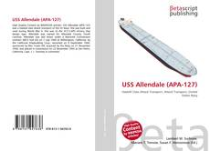 USS Allendale (APA-127) kitap kapağı