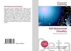 Borítókép a  Rafi Muhammad Chaudhry - hoz