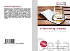 Capa do livro de Pabst Brewing Company