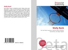 Bookcover of Wally Rank
