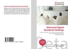 Buchcover von Advanced Digital Broadcast Holdings