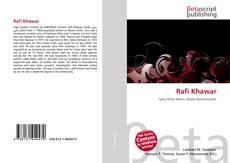 Capa do livro de Rafi Khawar
