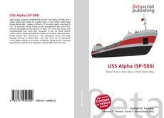 Capa do livro de USS Alpha (SP-586)