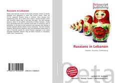 Buchcover von Russians in Lebanon