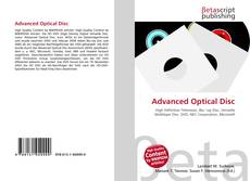 Bookcover of Advanced Optical Disc