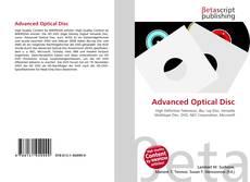 Portada del libro de Advanced Optical Disc