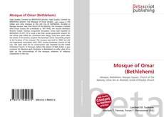 Capa do livro de Mosque of Omar (Bethlehem)