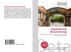 Bookcover of Aegidienkirche (Braunschweig)
