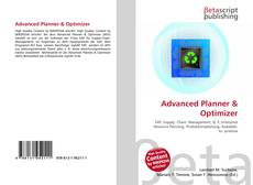 Bookcover of Advanced Planner & Optimizer
