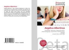 Aegidius Albertinus kitap kapağı