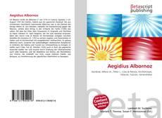 Aegidius Albornoz的封面