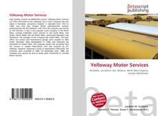 Yelloway Motor Services kitap kapağı