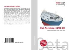Capa do livro de USS Anchorage (LSD-36)