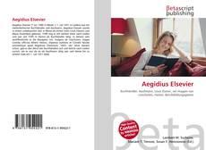 Capa do livro de Aegidius Elsevier