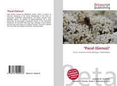 Capa do livro de ''Pacal (Genus)''