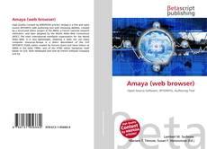 Portada del libro de Amaya (web browser)