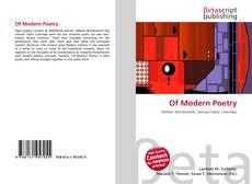 Обложка Of Modern Poetry