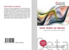 Bookcover of Saint- André- en- Barrois