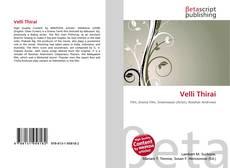 Buchcover von Velli Thirai