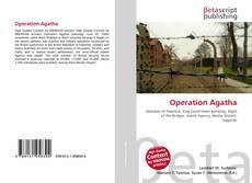 Copertina di Operation Agatha