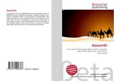 Capa do livro de Nazareth