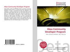 Capa do livro de Xbox Community Developer Program