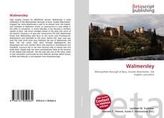 Buchcover von Walmersley