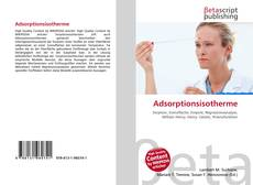 Bookcover of Adsorptionsisotherme